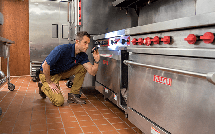 tech monitoring for pest activity in commercial kitchen