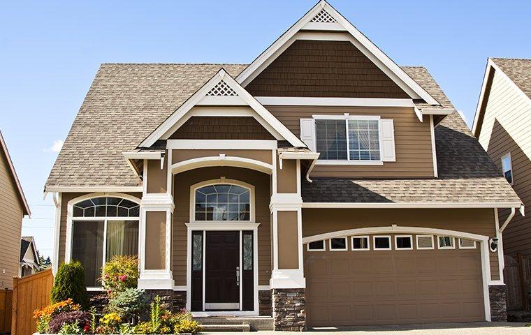 a large tan colored home in burgaw north carolina