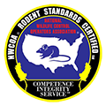 national wildlife operators association rodent logo