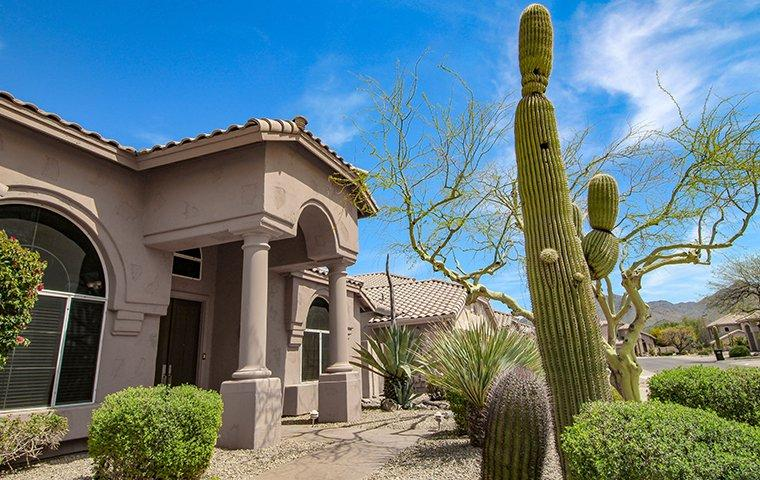 street view of a large home in gilbert arizona