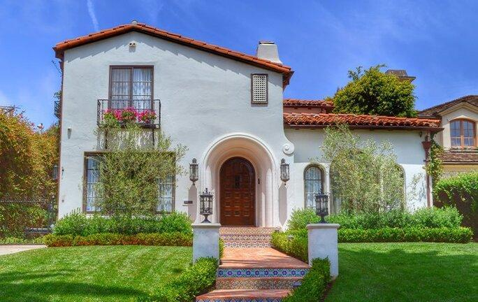 street view of home in altadena california