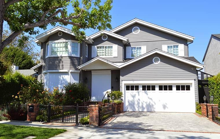 street view of a home in monrovia california