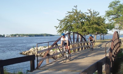 Riders enjoy the GRT along the Ralph B Birks Recreational Trail/Ben Butterworth Parkway