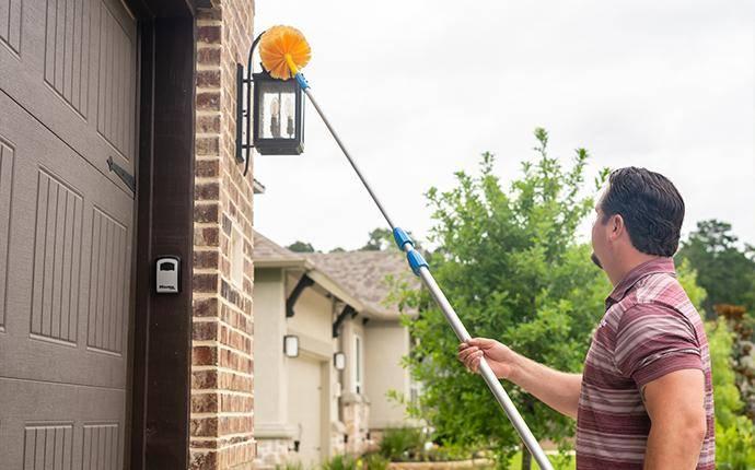 technician using webster pole