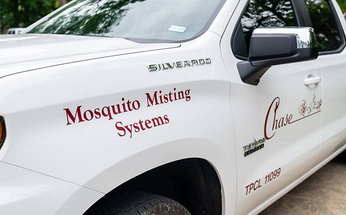 mosquito misting truck
