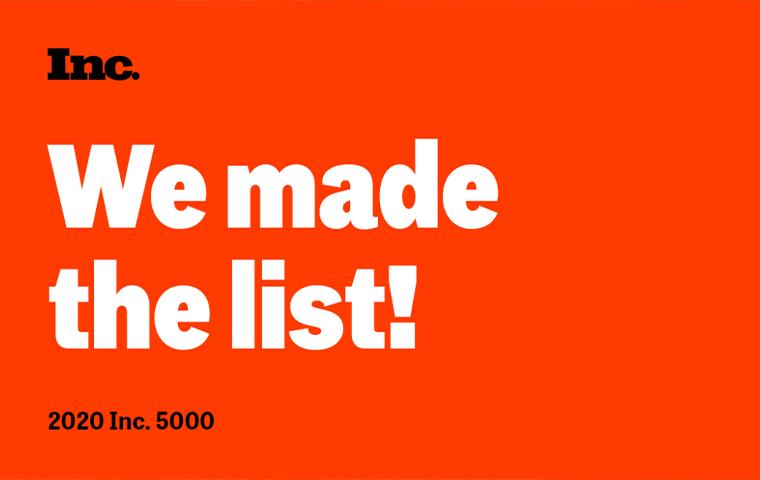 go forth we made the list on magazine 5000 graphic