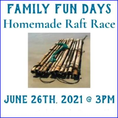 Family Fun Days - Homemade Raft Race