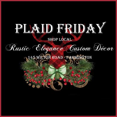 PLAID Friday at Rustic Elegance