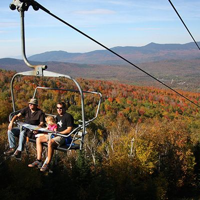 Riding the Chiarlift at Sugarloaf