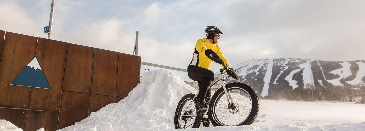 Fat Tire biking at Sugarloaf