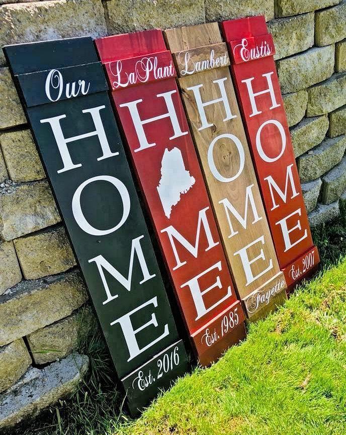 Rustic Elegance Home Signs