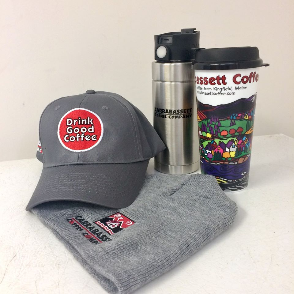 Carrabassett Coffee Swag for purchase