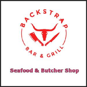 Backstrap Bar & Grill - Seafood & Butcher Shop