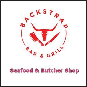 Backstrap Bar & Grill - Seafood & Butcher Shop