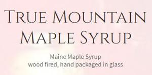 True Mountain Maple Syrup
