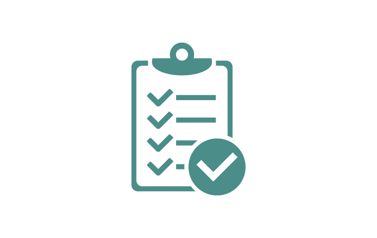 completed checklist icon