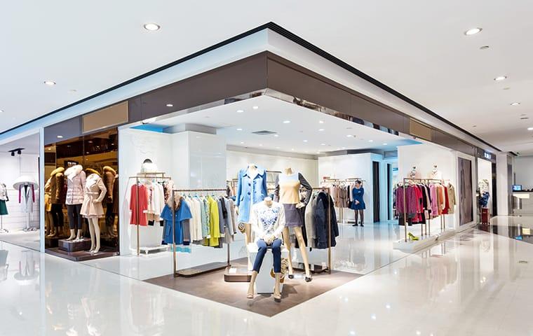 interior of a shopping mall in boca raton florida