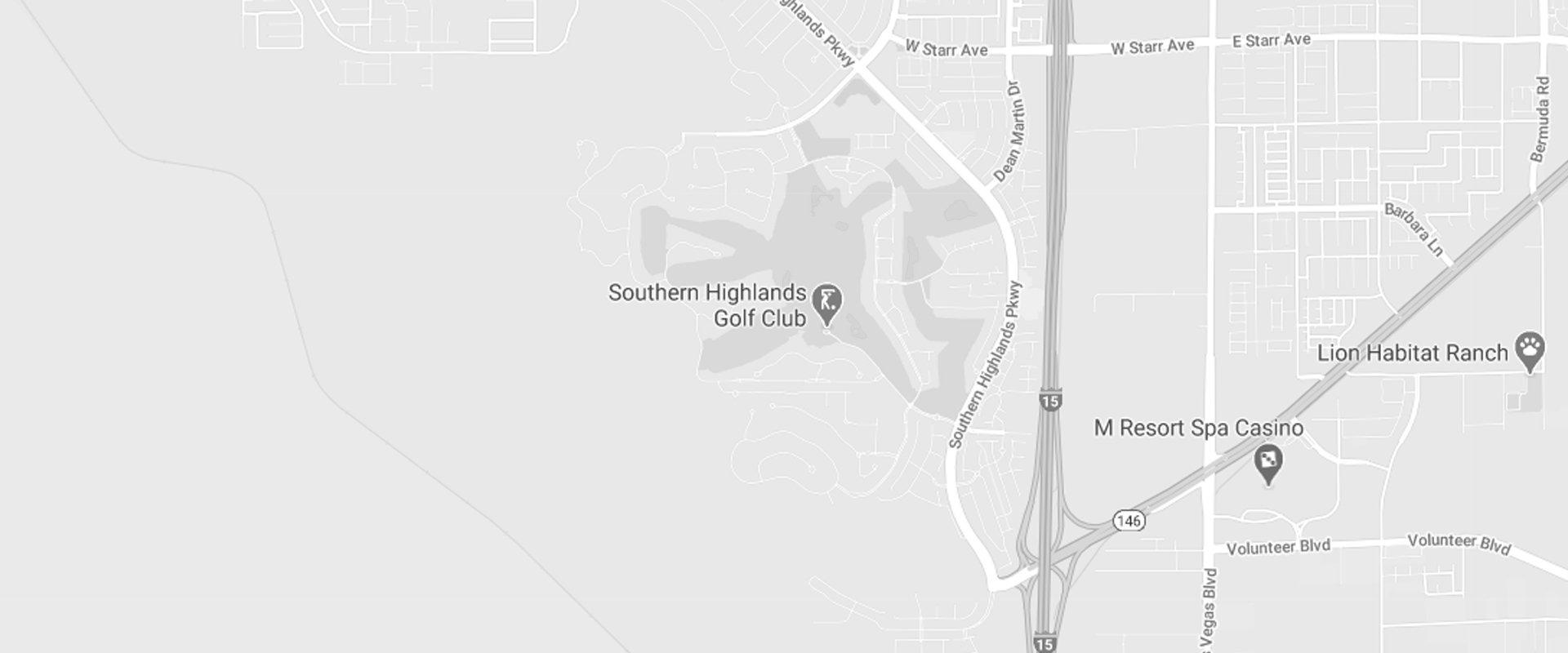 map of southern highlands nevada