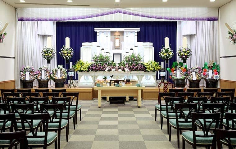 the interior of a funeral home serviced by pro active pest control in northern california