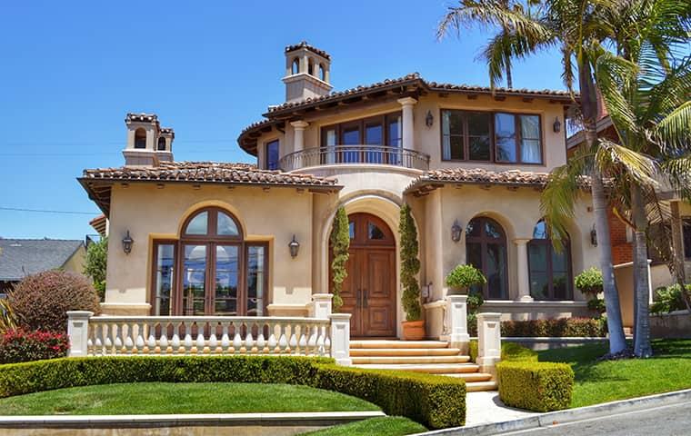 exterior view of a home in cameron park california