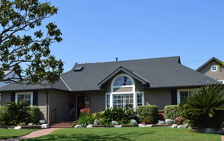 exterior view of a residential home in davis caifornia