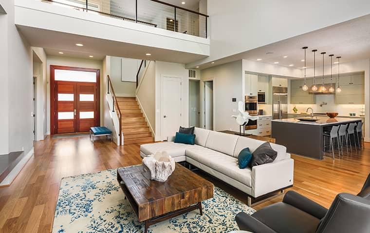 living room in folsom home