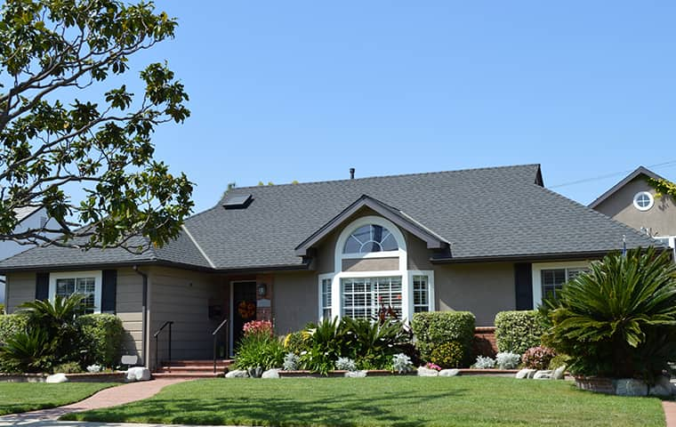 exterior view of a home in antelope caifornia
