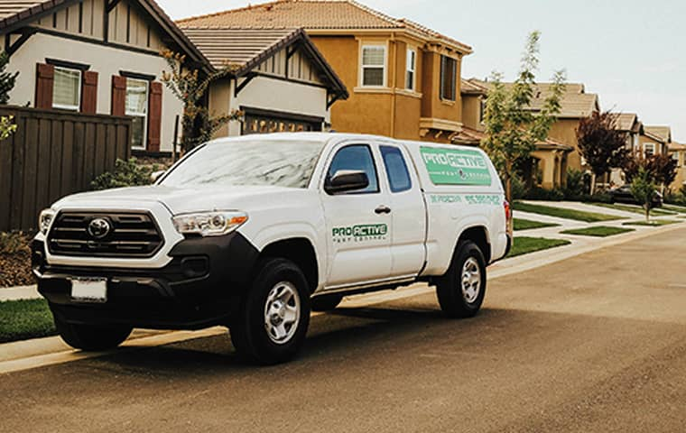 pro active pest control truck in elk grove california
