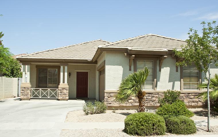 exterior view of a home in mesa az