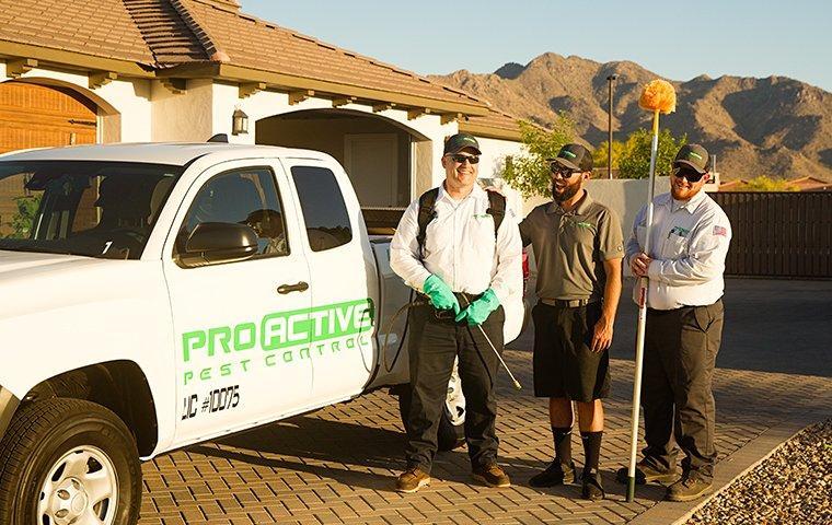 three techs in marysville california