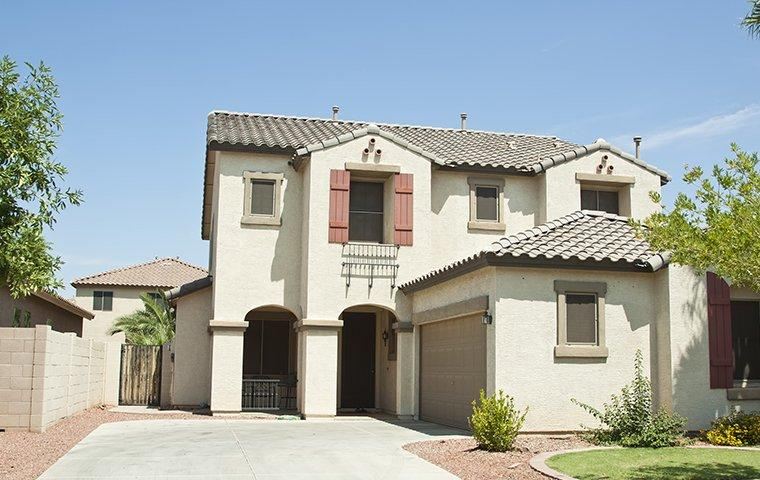exterior view of a home in scottsdale az