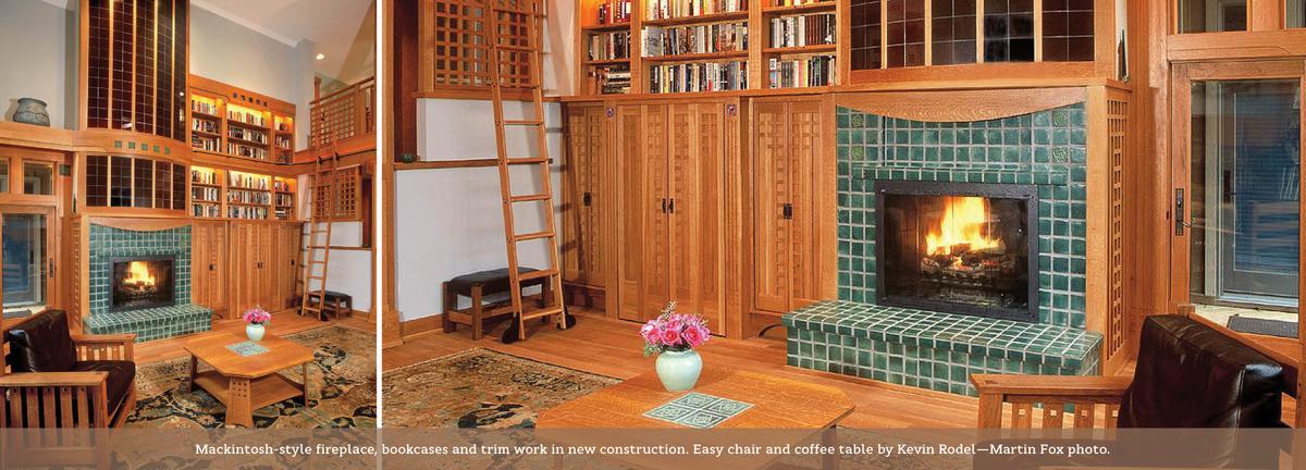 C.R.Mackintosh inspired room interior.