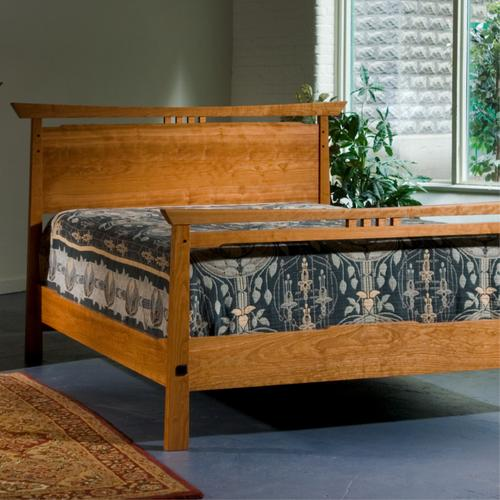 Asian inspired bed