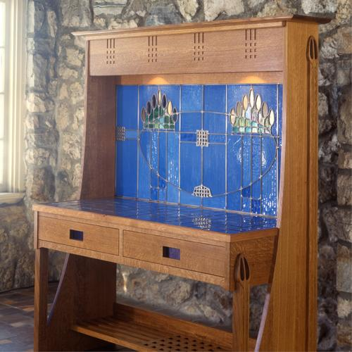 Contemporary Mackintosh inspired sideboard.