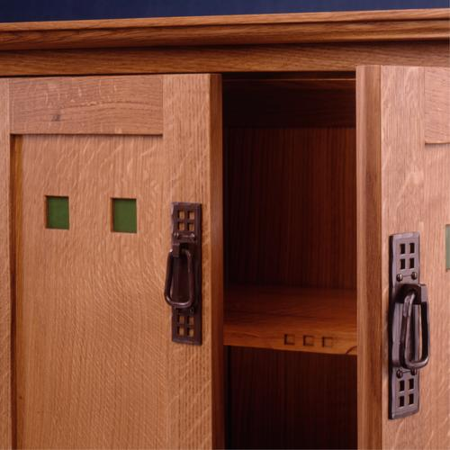 Contemporary Arts & Crafts style cabinet.