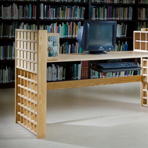 Computer desk.