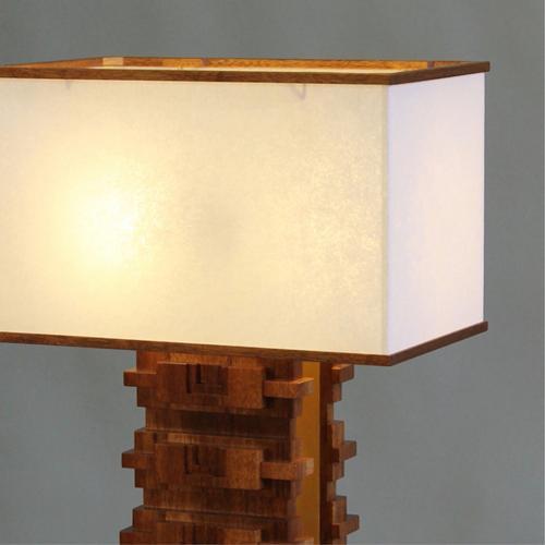 Mayan Table Lamp