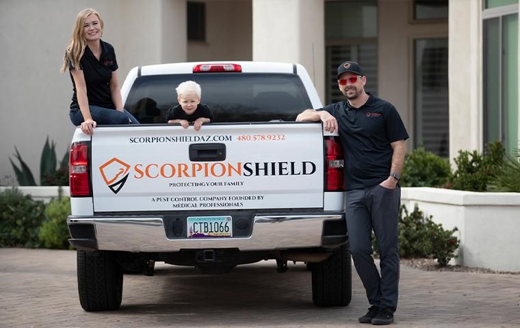scorpion shield family