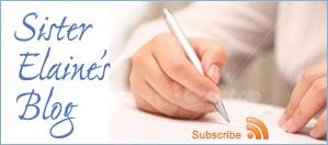 Sister Elaine's Blog