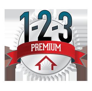 1-2-3 premium pest protection logo