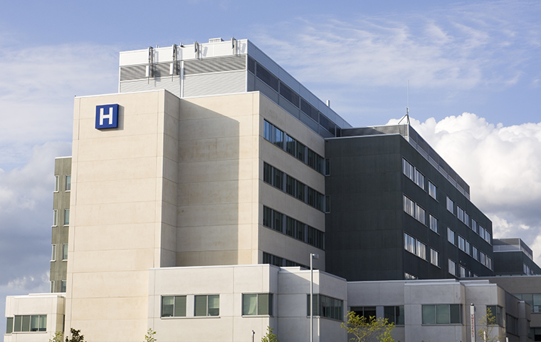 street view of a hospital in chester county pennsylvania