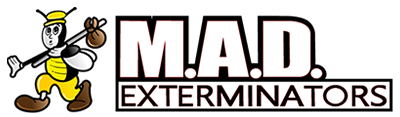 mad exterminators logo