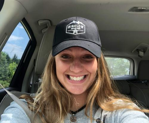 ZOE BAKER IN OUR FAVORITE HAT!