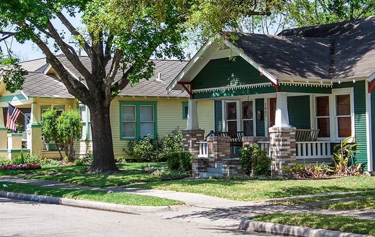 street view of a home in brookshire texas