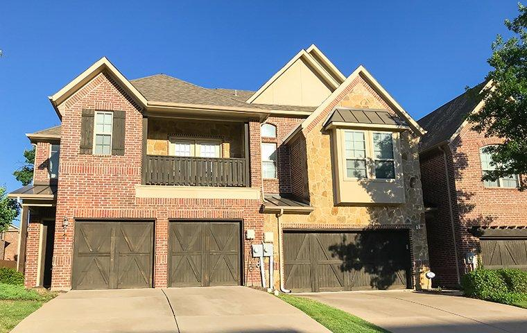 street view of a suburban home in carrolton texas