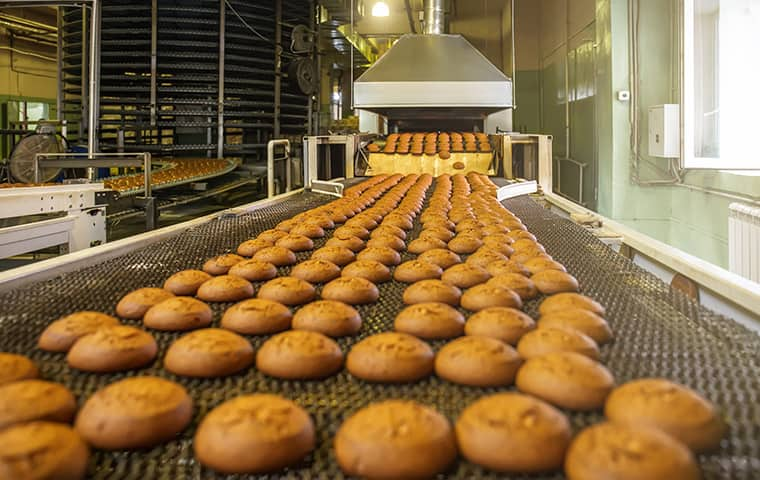 a food processing facility in dallas texas