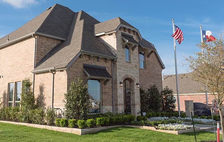 street view of a home in conroe texas