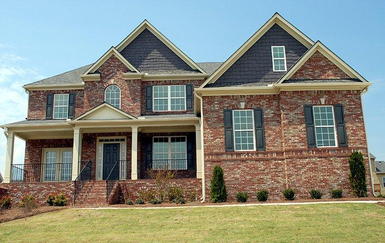 street view of a large home in humble texas