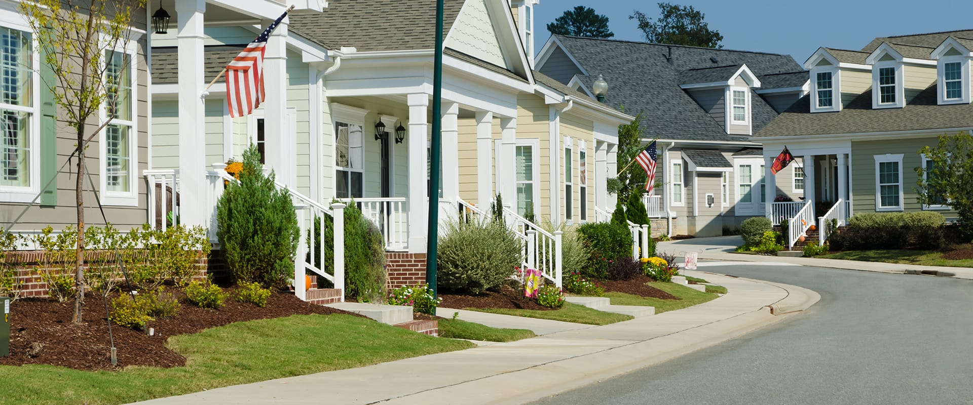 a residential neighborhood in houston texas serviced by cantu home help services