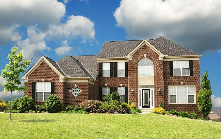 street view of a suburban home in kingwood texas